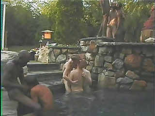 gay orgy with lots of dick gangbanging