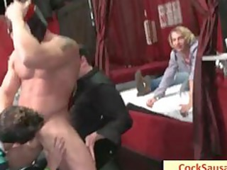 really wild gay sex sausage party part2