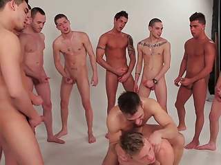 gay guys gang fuck bunch  twinks 2 schwule jungs