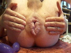 arse pump pov gaping idiot anal swollen arse toys